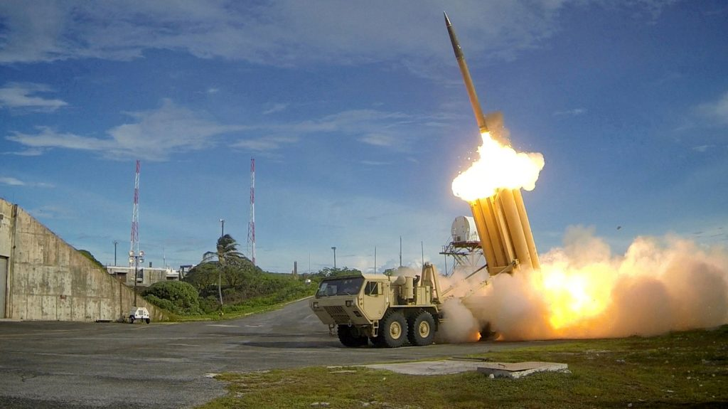 U.S.  tests defense system after North Korea missile launch