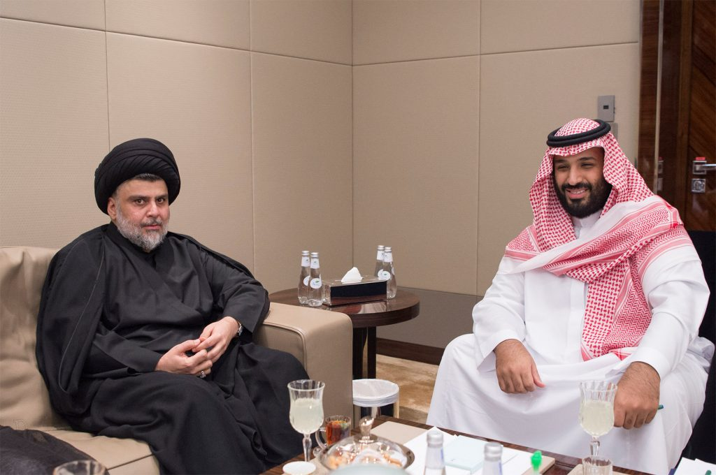Iraqi Shi'ite Cleric Sadr Visits Saudi Arabia For Talks