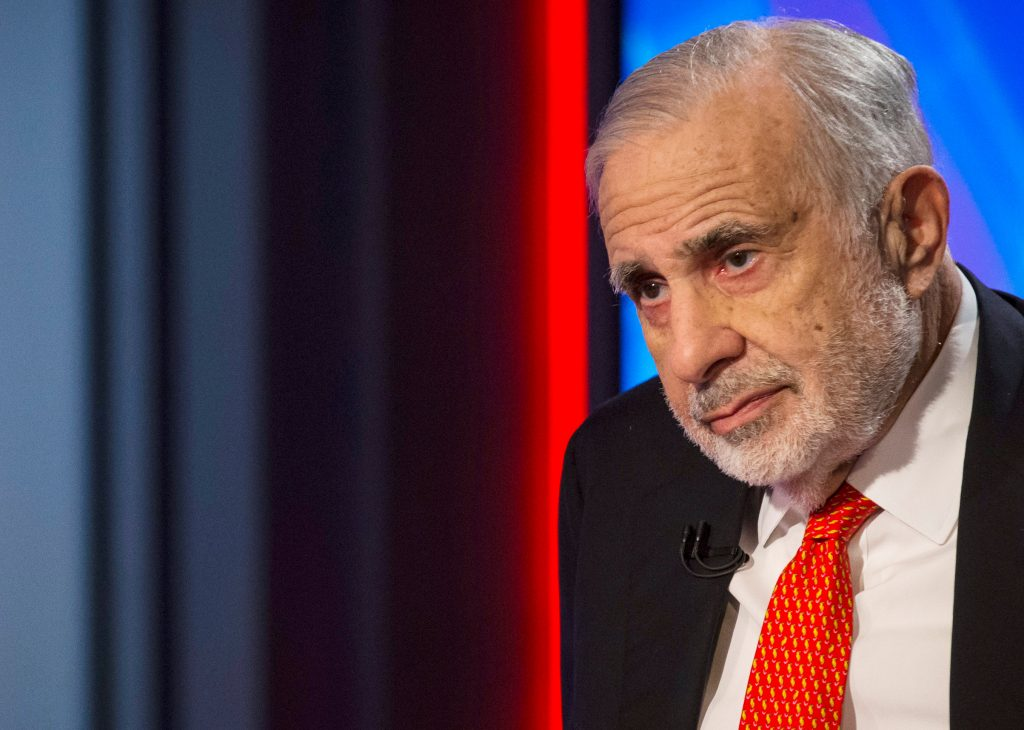 Carl Icahn steps down as adviser to US President Trump