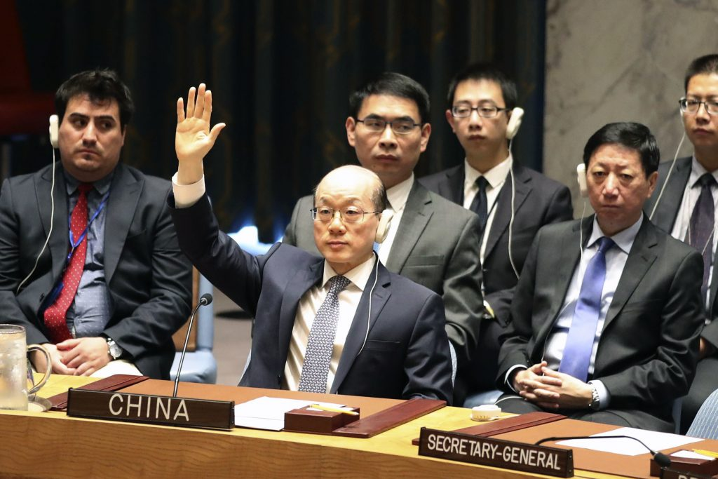 China urges carrot and stick approach to DPRK