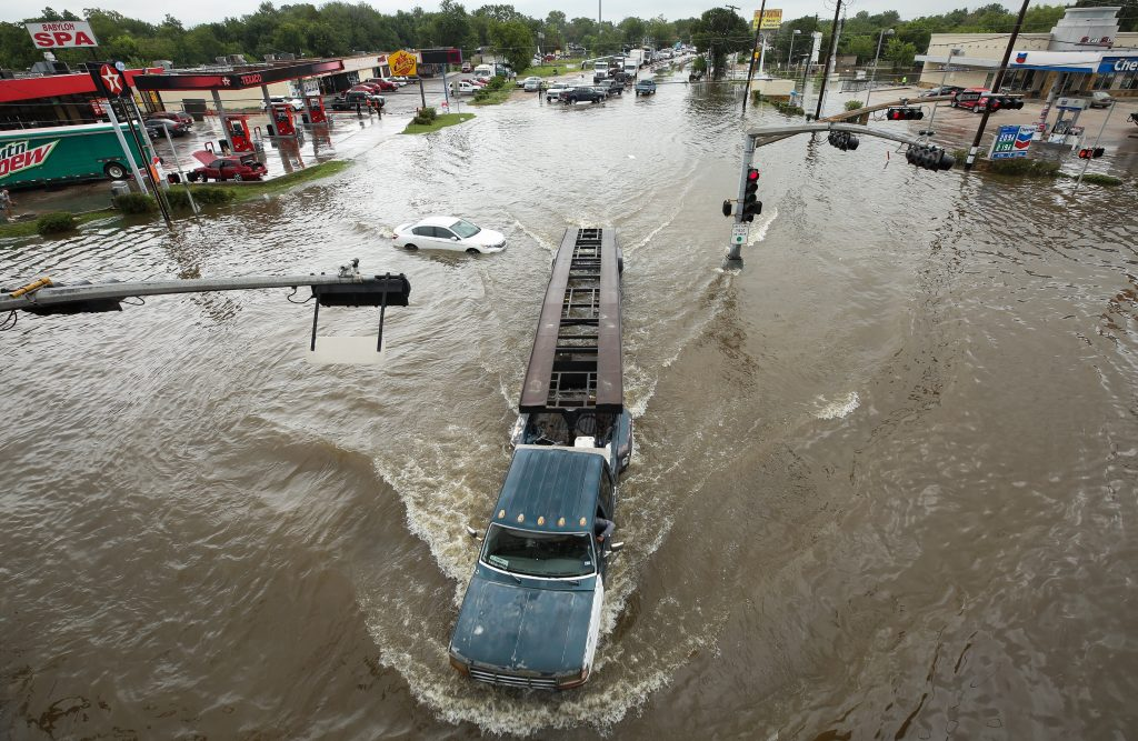 Torrential Rains Bring Widespread Flooding to Houston Area ...