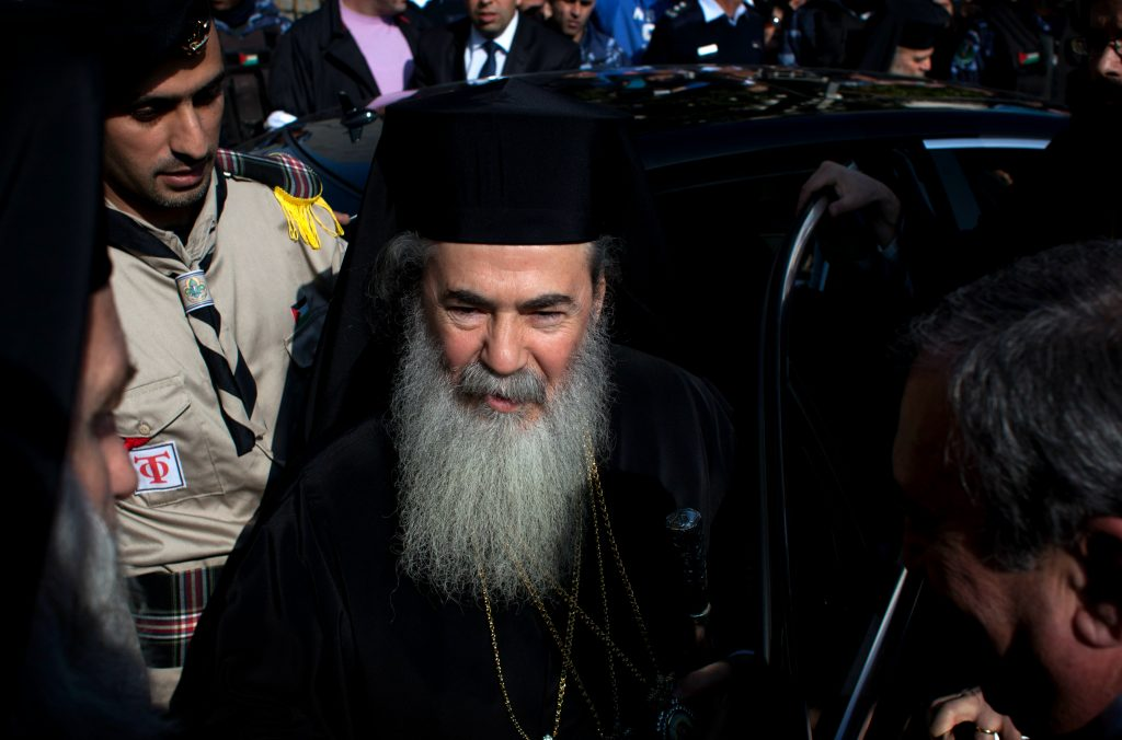 Greek Orthodox patriarch says Israeli court ruling on church property politically motivated