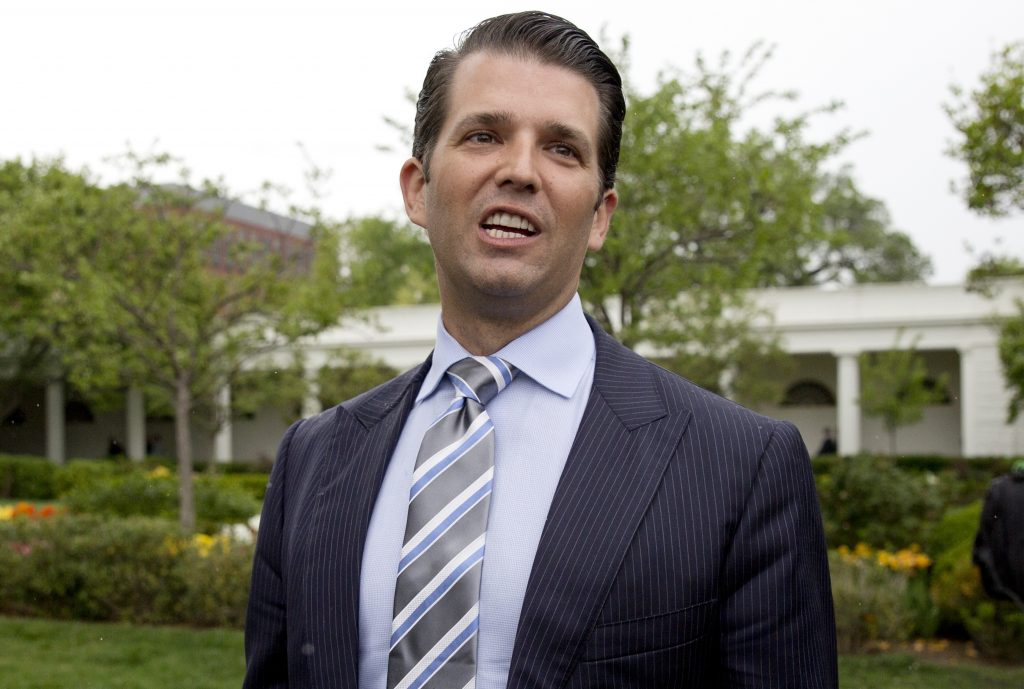 Trump Jr. expected to testify privately to Senate committee Thursday