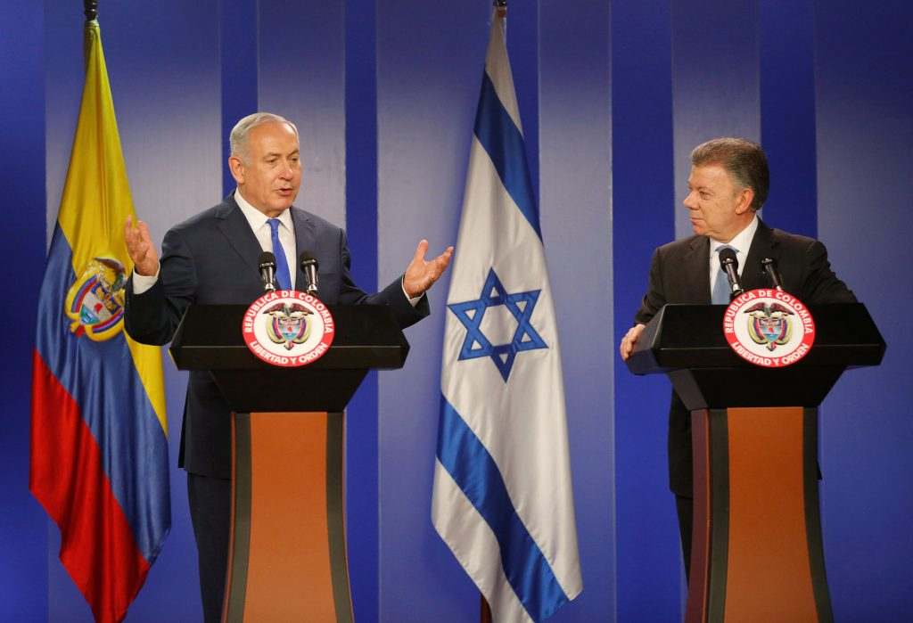 Argentineans hold protest against Netanyahu's visit