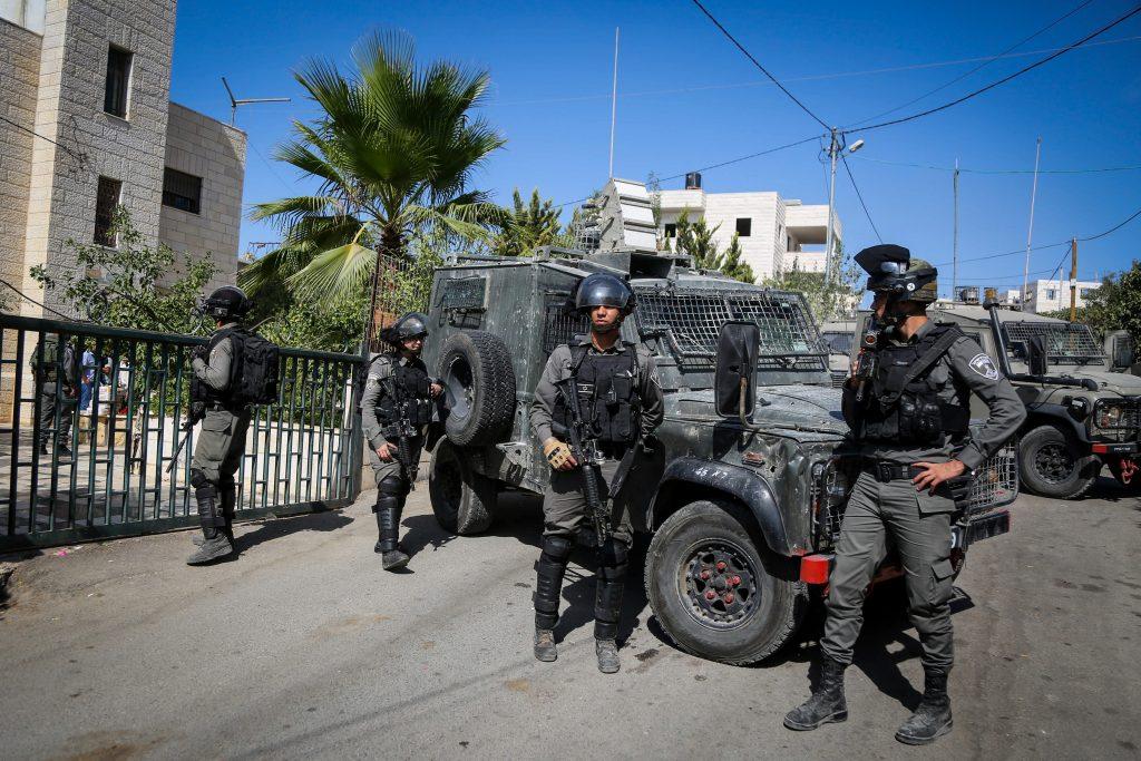Israel palestinians closure