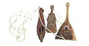 Flutes, Violins, Harps