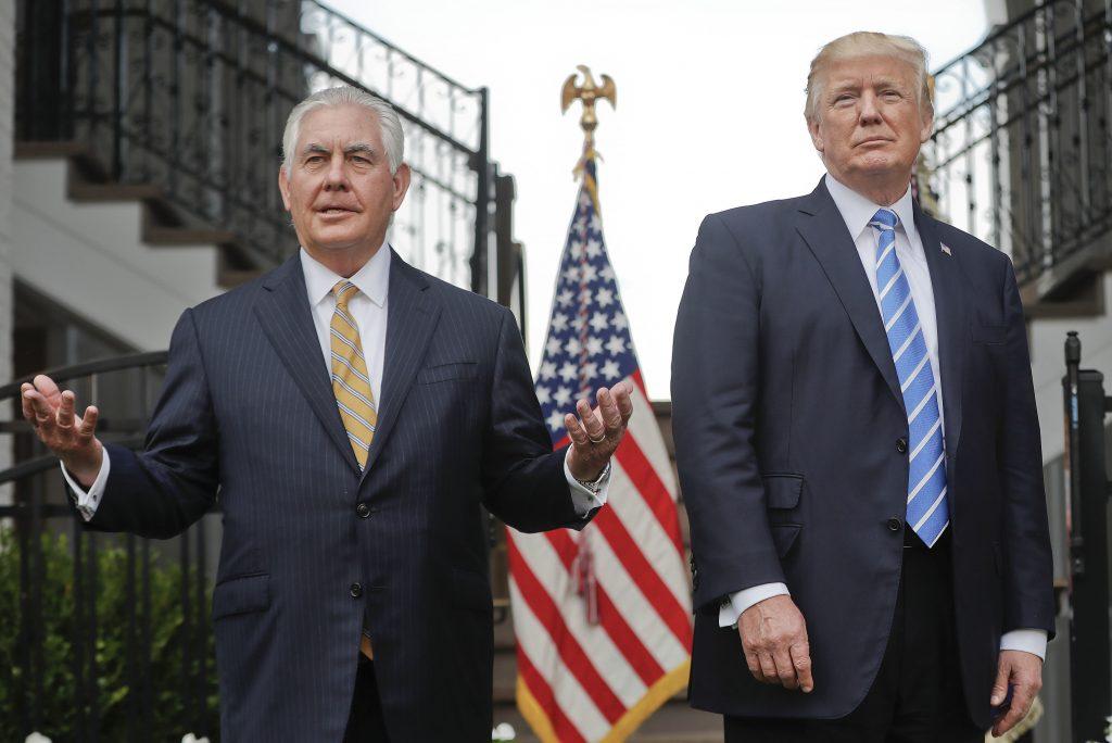 Trump Tillerson