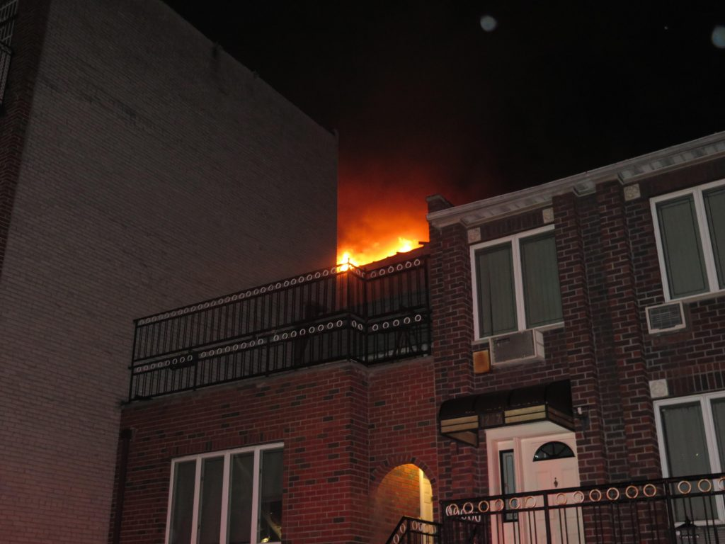 Fire rips through Brooklyn apartment; civilians and firefighters among 14 injured
