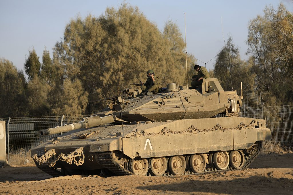 Israeli Forces Destroy Tunnels on Gaza Border