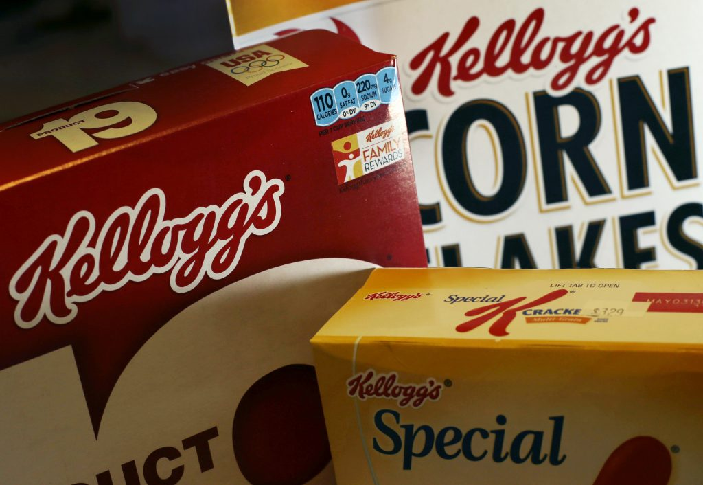 Kellogg Company (K) Shares Up 6.2% After Earnings Beat
