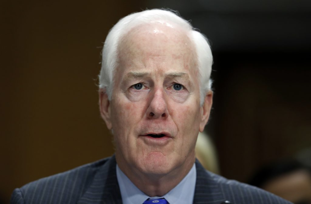 Cornyn files bill aimed at strengthening gun background checks