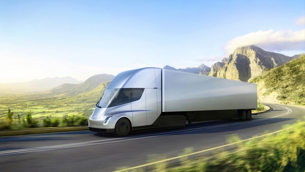 Tesla unveils electric big-rig truck