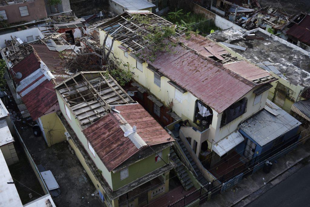 Hurricane Maria, Puerto Rico tarps, roofs