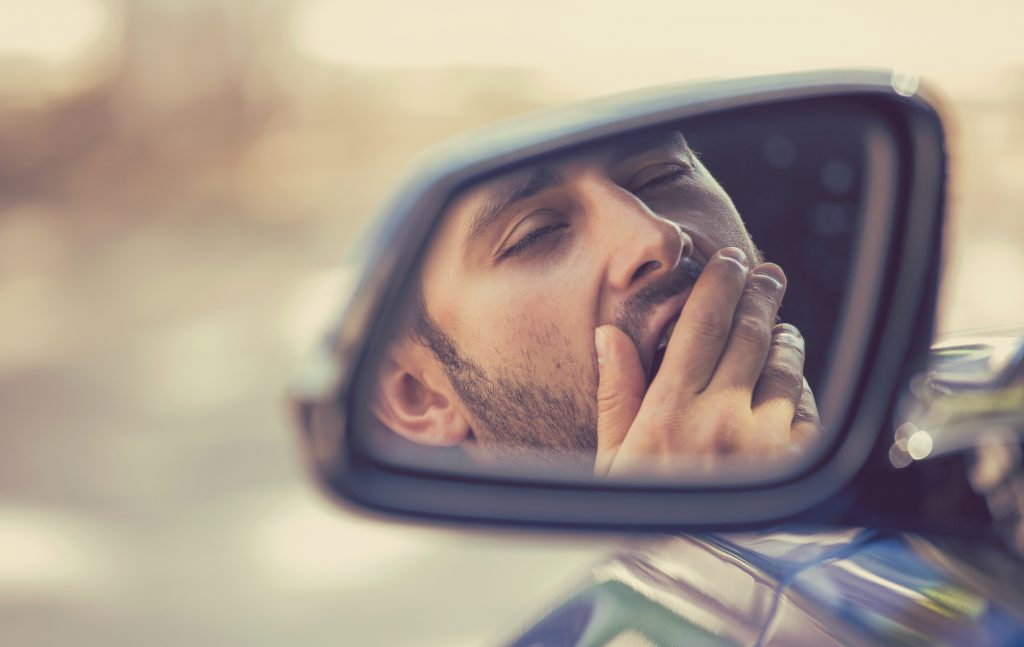 asleep at the wheel, drowsy driving