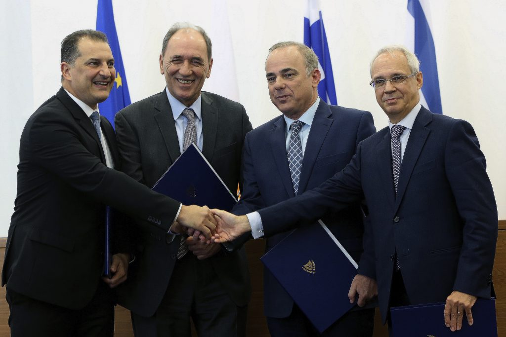 Greece, Italy, Israel and Cyprus back natural gas pipeline to Europe