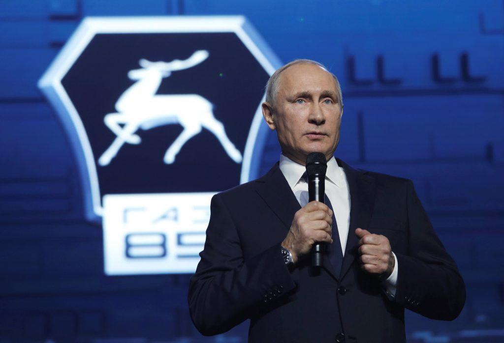 Putin re-election