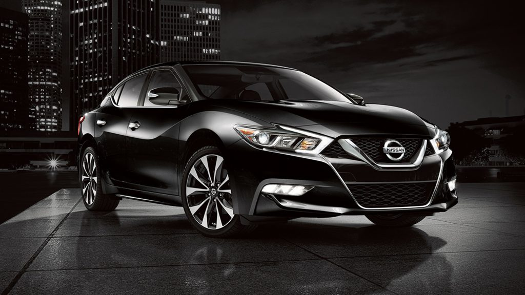 Auto Review Nissan Maxima 4 Door Sports Car Gets Some