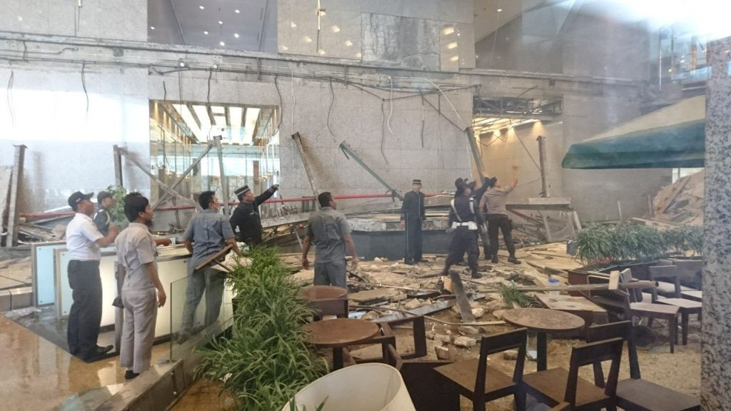Indonesia Stock Exchange Mezzanine Collapse Jewish News