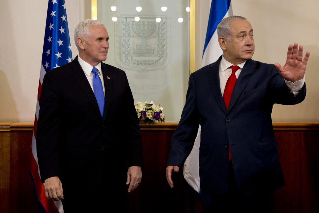 Pence Visit Met by Opposition from Jordan and Palestine