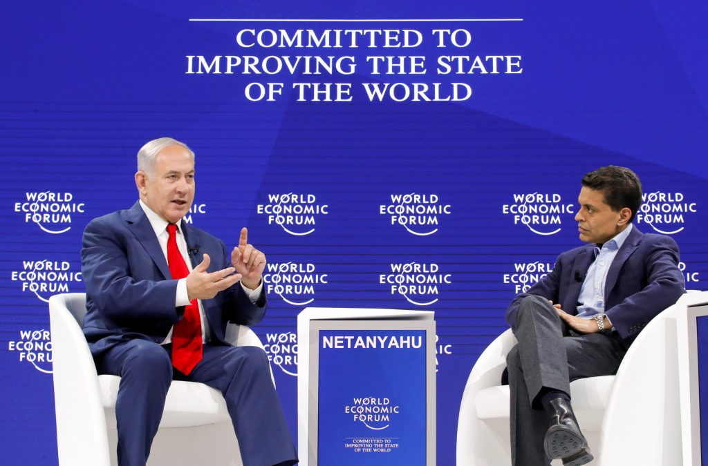 Davos 2018: Netanyahu praises 'extraordinary' alignment against Iran