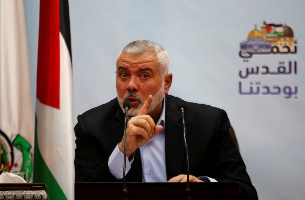 U.S. adds Hamas leader to terrorist list