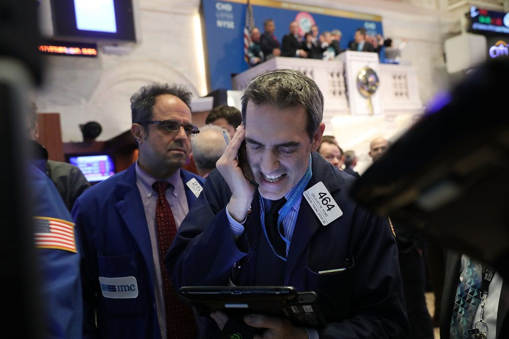 Wall Street opens higher; Dow rises over 200 points