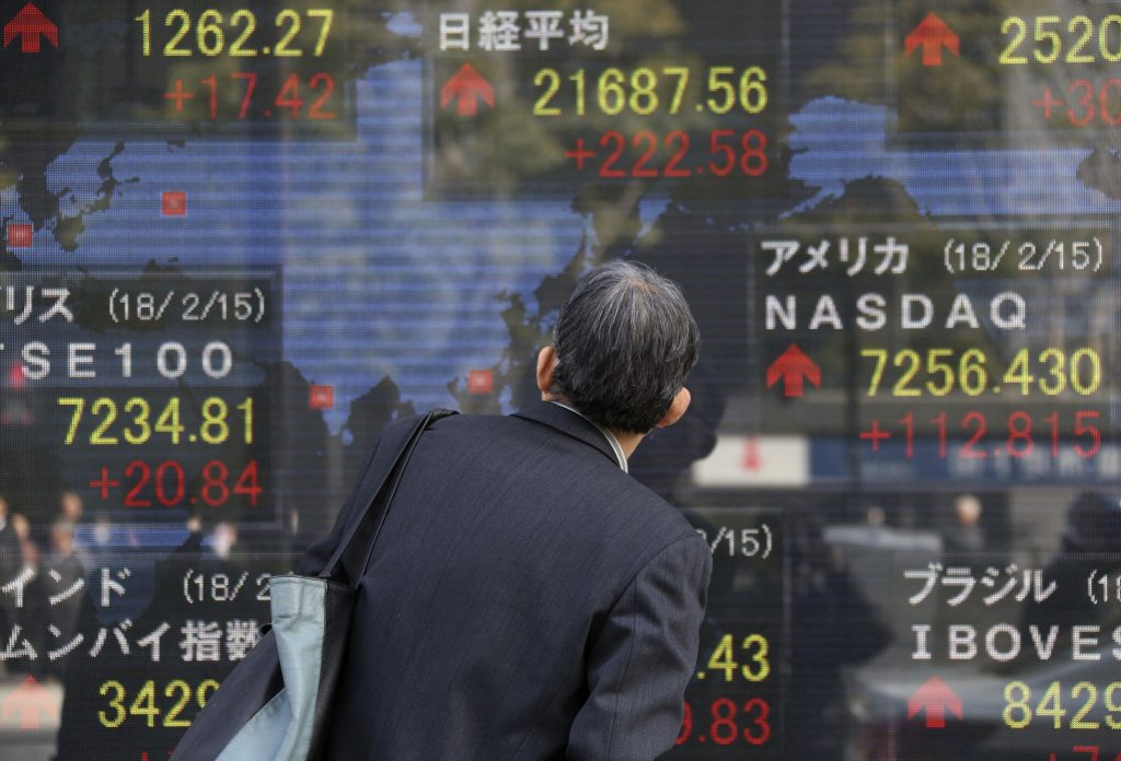 Markets in Asia seen higher after U.S. gains; yen strengthens