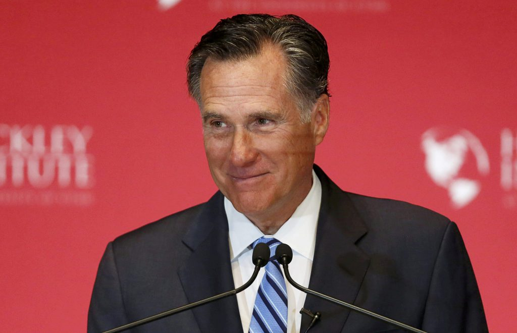 Mitt Romney delays Senate announcement after Florida shooting