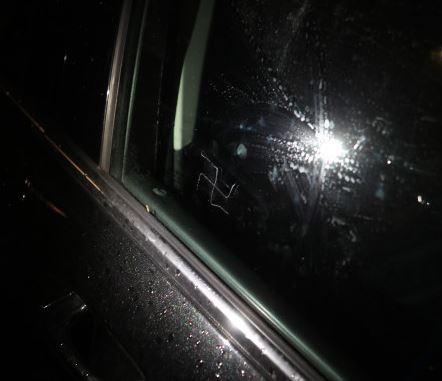 swastikas Boro Park