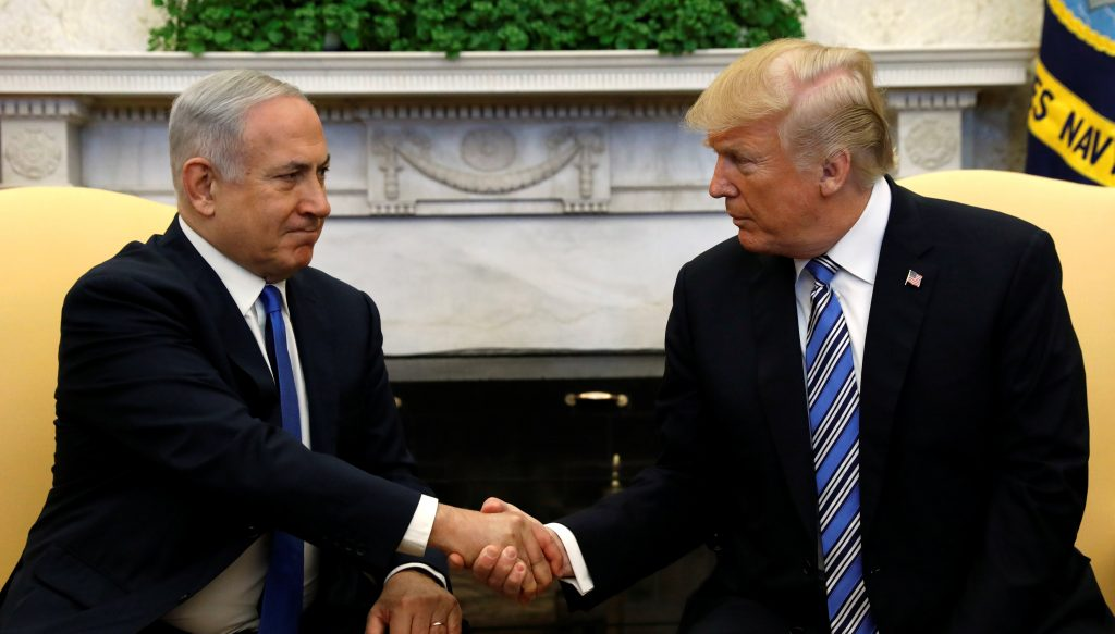Trump asks ally Netanyahu if he genuinely sought peace with Palestine