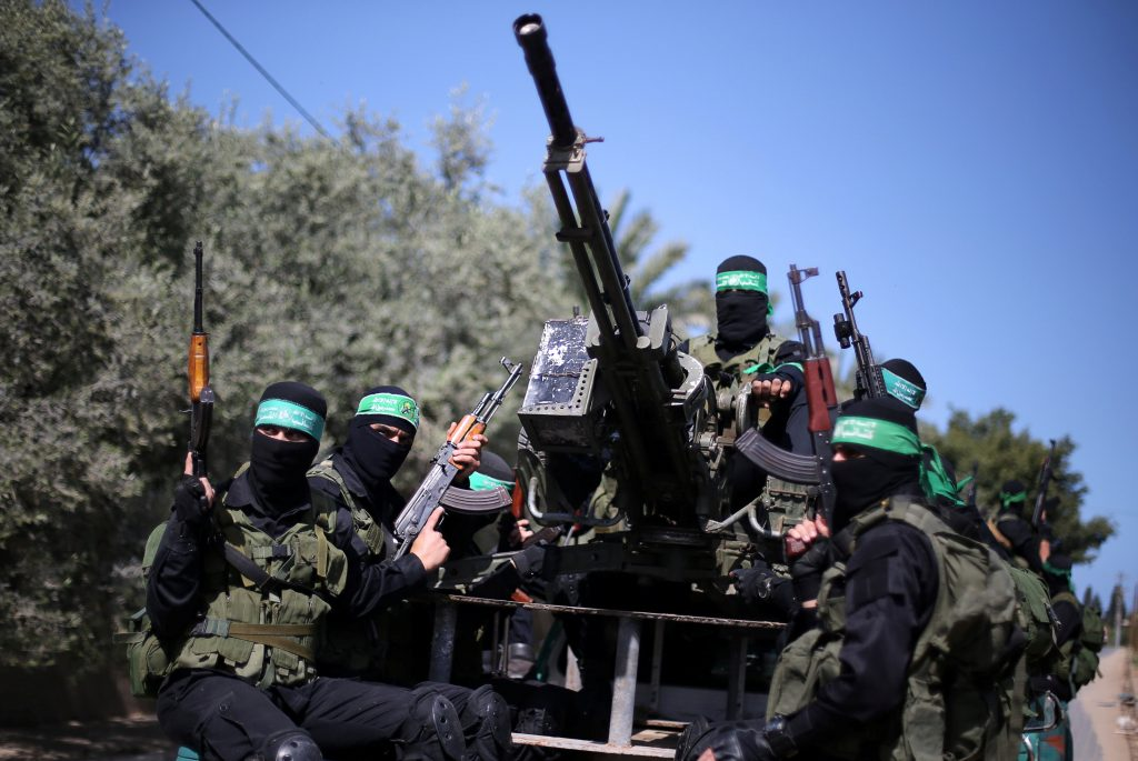 Grenade-Carrying Palestinians Infiltrate Israel From Gaza