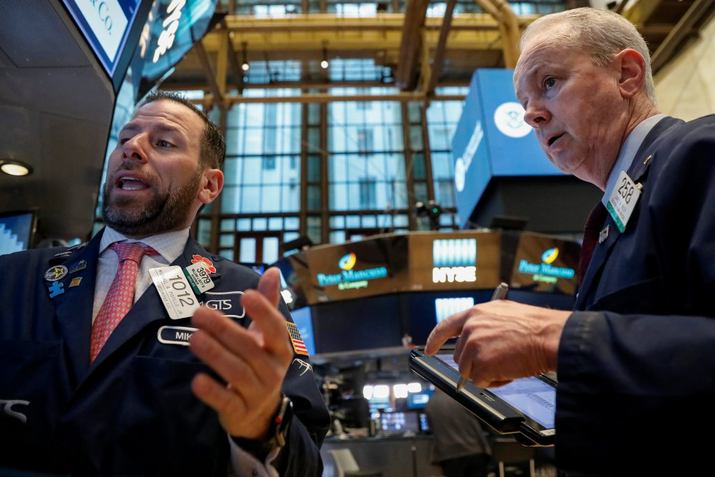 Stocks surge higher after early plunge on trade war fears