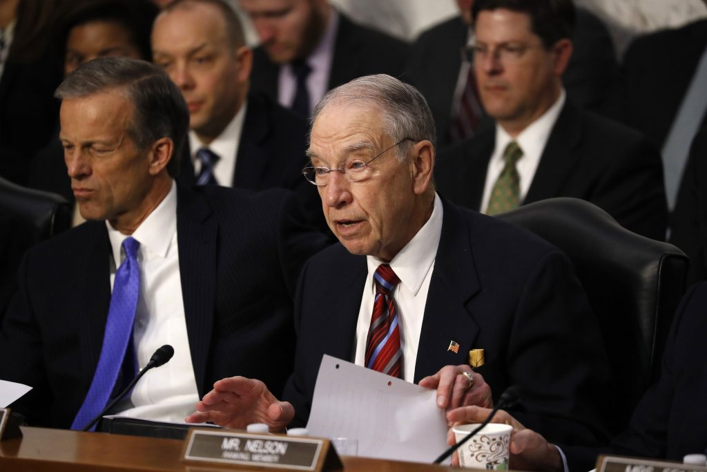 Grassley on special counsel bill: McConnell's views 'do not govern' his committee