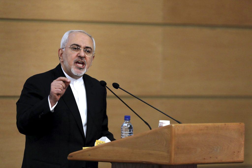 Full video of Iran's Zarif addressing the Council on Foreign Relations