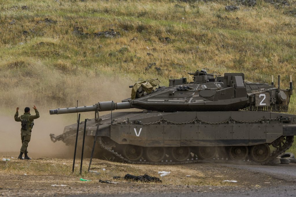 Sirens sound in Golan Heights: Israeli army