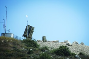 An Iron Dome missile defense battery has been deployed near the central city of Modiin.  (Flash90)