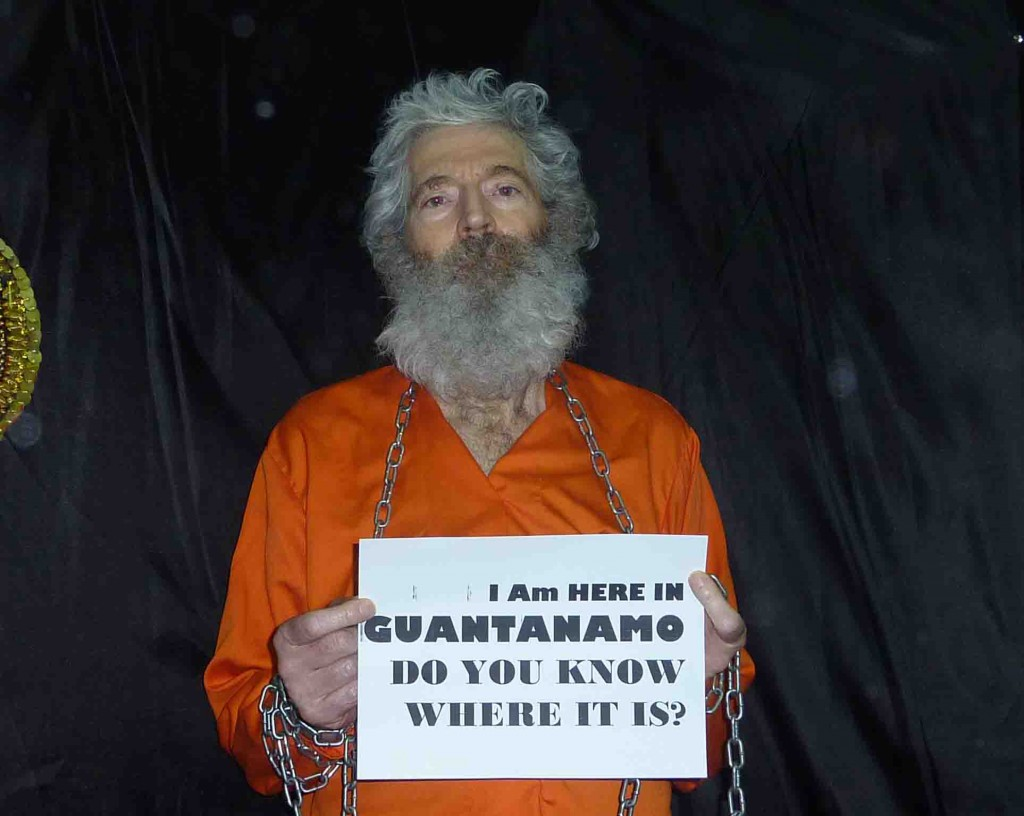 This undated handout photo provided by the family of Robert Levinson, shows retired-FBI agent Robert Levinson. Levinson, 64, went missing on the Iranian island of Kish in March 2007. (AP Photo/Levinson Family)