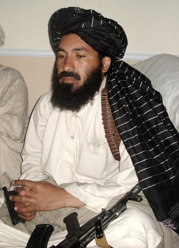 In this 2007 file photo, Pakistani terrorist commander Maulvi Nazir meets his associates in South Waziristan, Pakistan near the Afghani border. (AP Photo/Ishtiaq Mahsud)