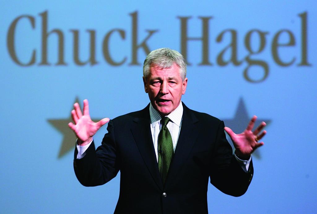 Chuck Hagel (AP Photo/Nati Harnik - File)