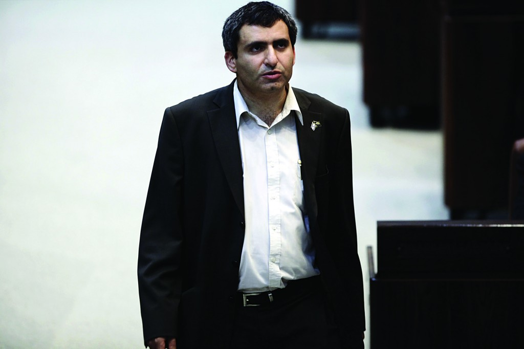 Likud MK and coalition chairman Ze'ev Elkin came out on Tuesday for annexation of Area C. (Flash90)