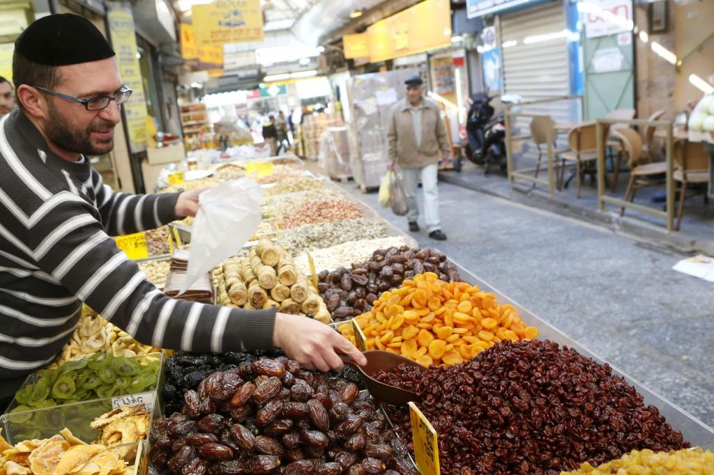 Mahane Yehuda market Photo by Miriam Alster/Flash90