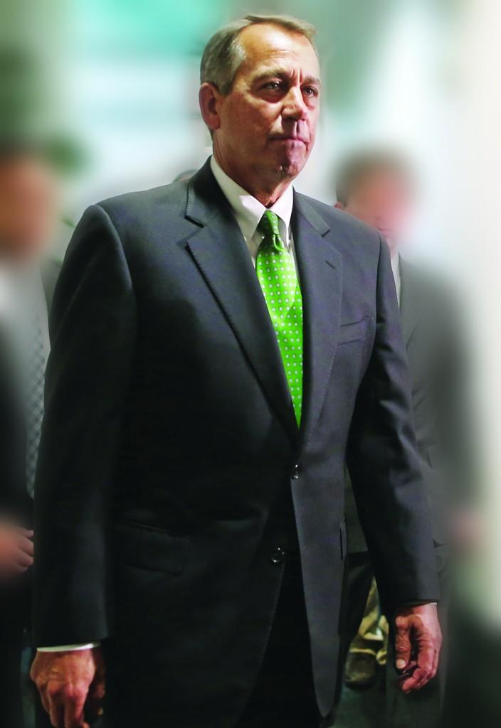 House Speaker John Boehner (R-Ohio)