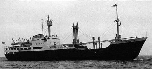 On Jan. 30, 1959, MS Hans Hedtoft struck an iceberg on her maiden voyage and sank, killing all 95 aboard.