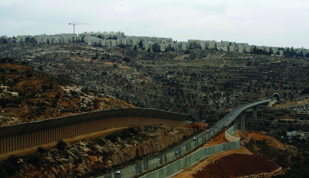 A view of Gilo, one of the areas singled out in an unpublished UN report urging sanctions against the Jewish presence in Yehudah and Shomron and east Yerushalayim. (REUTERS)