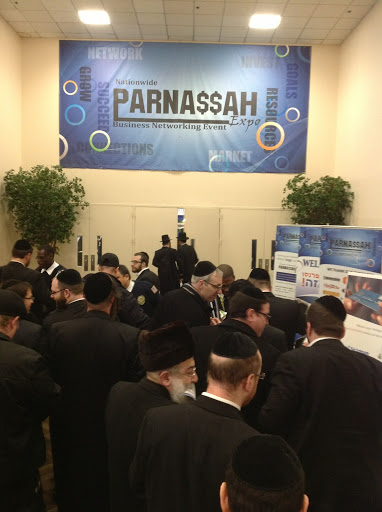 Partial view of the crowds at the Parnassah Expo. (Lakewood Scoop)