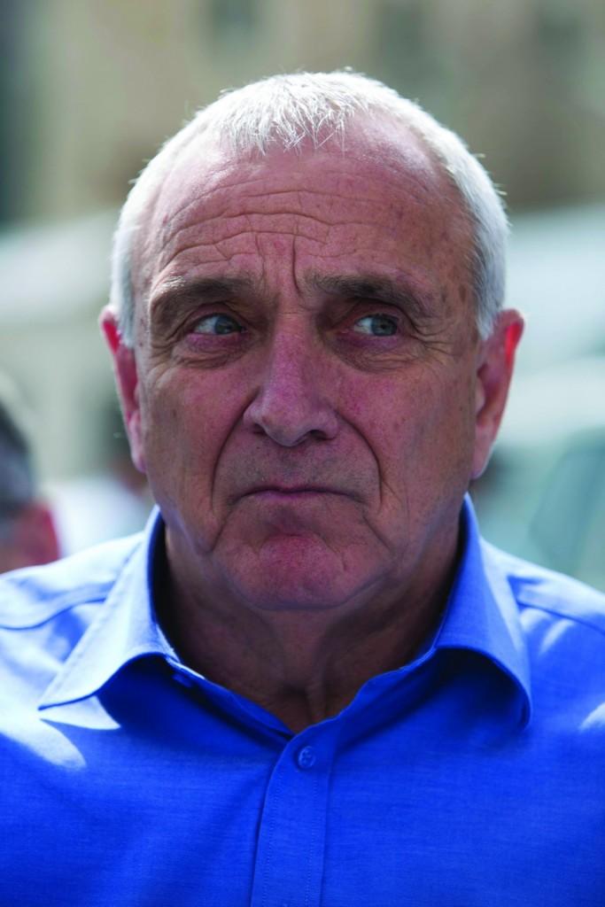 Internal security minister Yitzchak Aharonovitch. (Flash90)