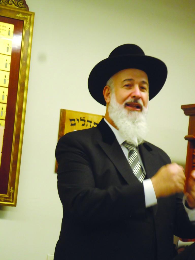 Ashkenazic Chief Rabbi Yona Metzger.