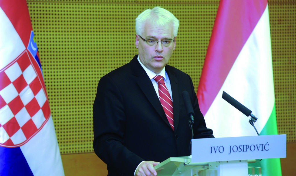 Croatian President Ivo Josipovic. (Getty Images)
