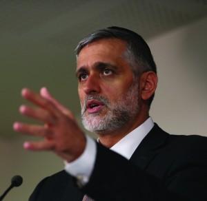 Outgoing Interior Minister Eli Yishai (Shas). (Flash90)