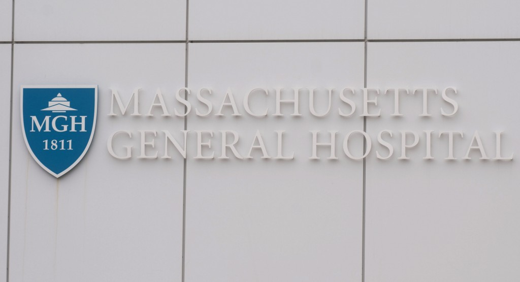 Massachusetts General Hospital, where the emergency staff received training from Israeli doctors that helped them to cope with the unusual volume of injuries in the aftermath of Monday's explosions at the Boston Marathon. (Getty Images)